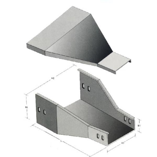 槽式异径接头 XLE-C-06D